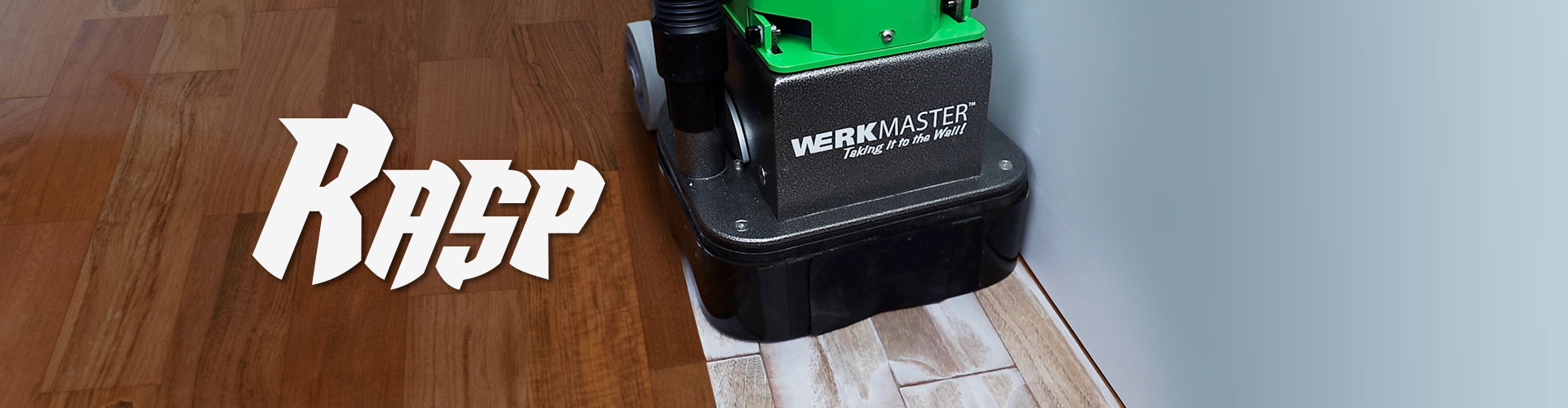 WerkMaster RASP Removing Aluminum Oxide