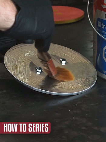 How to Series: Replacing foam velcro on an adapter plate