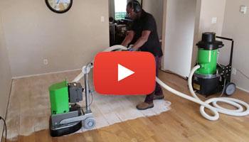 Refinishing an old beat up Oak Engineered Hardwood floor