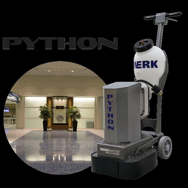 Python airport lobby